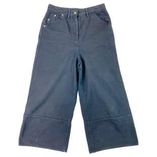 Jacquemus La Riviera Dark Blue Denim Jeans