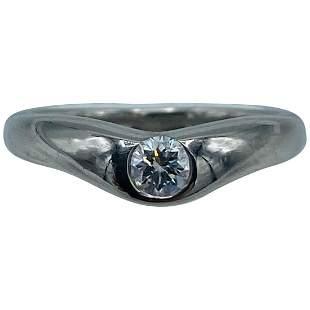 Vintage Tiffany & Co. Elsa Peretti Platinum and Diamond