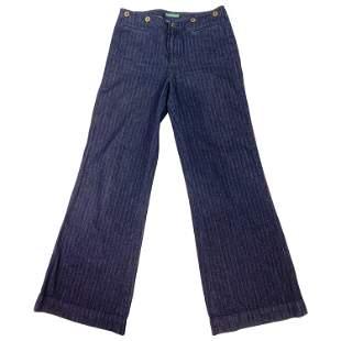 Lauren Jeans Company Ralph Lauren Dark Blue Straight