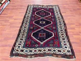 Antique Kurdish Yurok Tribal Rug-4818