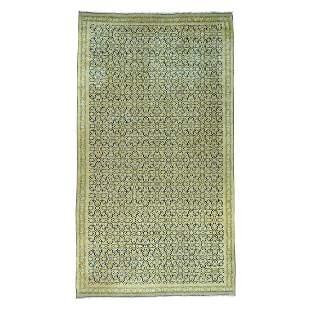 Antique Laristan Exc Condition Handmade Gallery Size