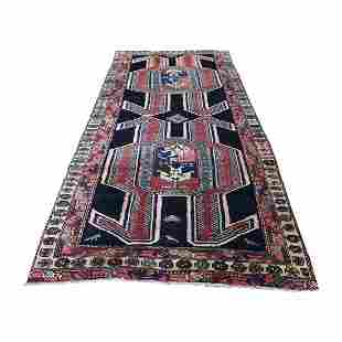 Vintage North West Persian Pure Wool Wide Runner