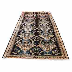 North East Persian Vase Design Wide Gallery Runner