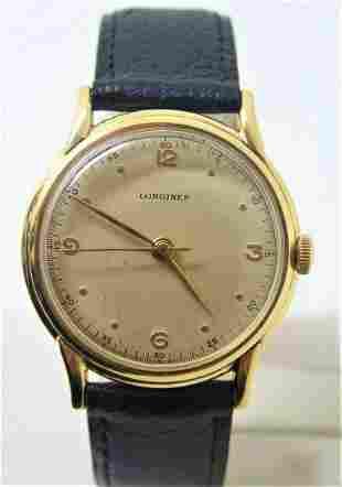 Vintage 14k LONGINES Mens Winding Watch Ref.5702