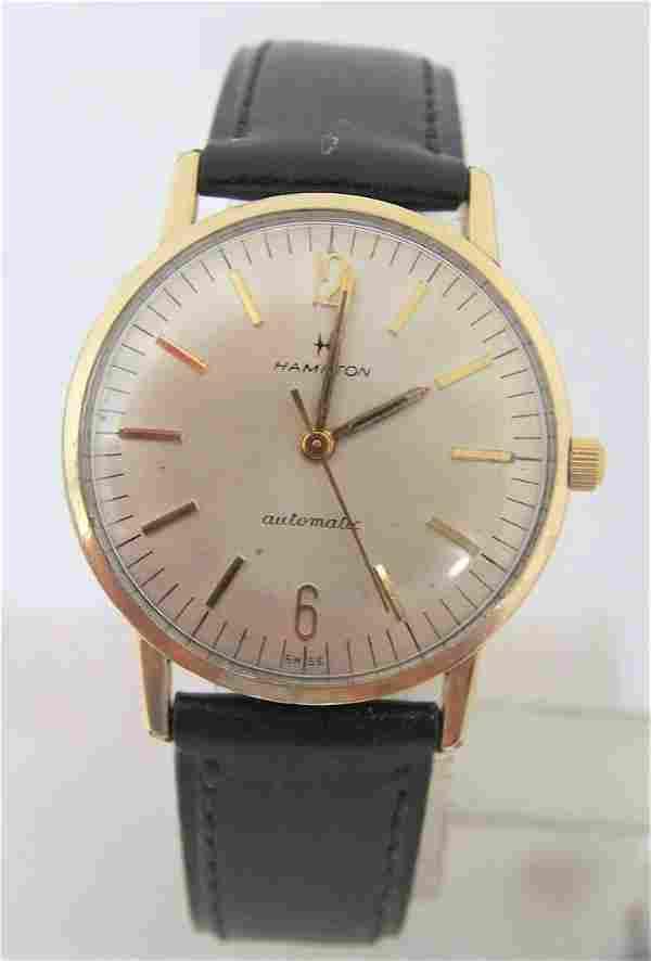 Vintage 10k GF HAMILTON Automatic Watch 1960s Cal 694A*
