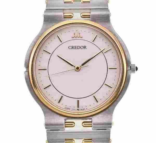 Seiko - CREDOR -18K Gold - Quartz -Men