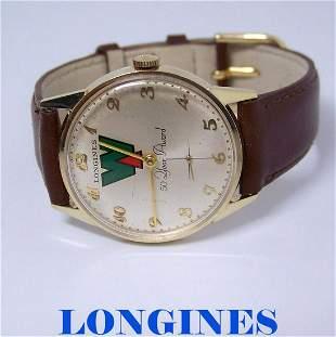 Vintage 14k LONGINES Mens Winding Watch Cal 370* 50