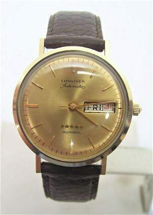 Vintage LONGINES 5 Star Admiral Automatic DAY DATE