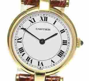 Cartier - Vandome - 18K Yellow Gold - Quartz - Women