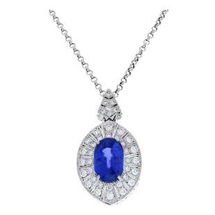 AGL Certified 12.62 Carat Marquise Blue Sapphire and