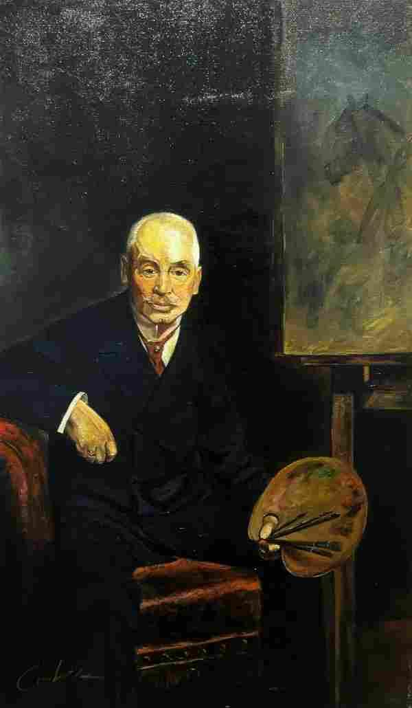 Cortez - Portrait of Józef Brandt