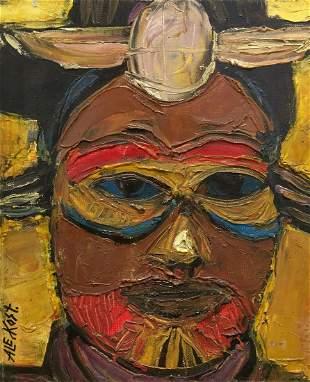 Aleksander Kost (1944 - 2014) - Mask