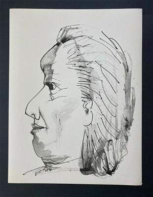 Pablo Picasso AFTER 1957 Lithograph 26/266 + Old Lady