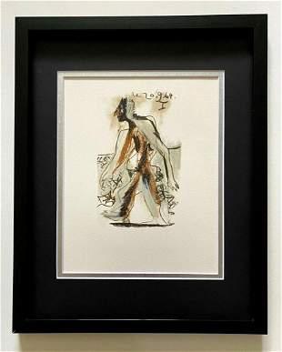 """Pablo Picasso """" La Gout Du Bonheur"""" AFTER Lithograph in"""