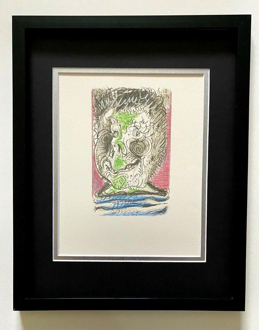 """Pablo Picasso """" La Gout Du Bonheur"""" AFTER Lithograph"""