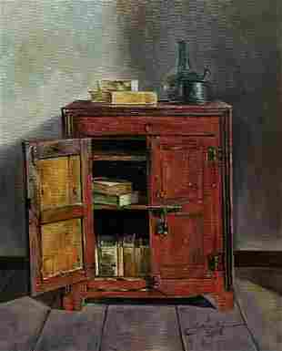 Cortez - Red cupboard