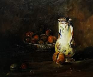 Cortez - Bowl of plums