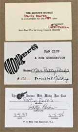 Monkees Fan Photo Album  '87 US Tour