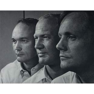 YOUSUF KARSH - Aldrin, Armstrong, and Collins - Apollo