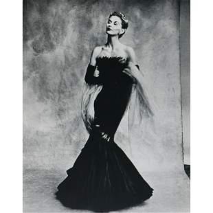 IRVING PENN - Lisa Fonssagrives-Penn, Mermaid Dress