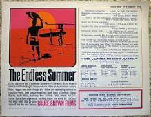 "Endless Summer - Surf Epic (1965) 8.5"" X 11"" Original"