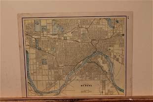 1891 Map of St. Paul