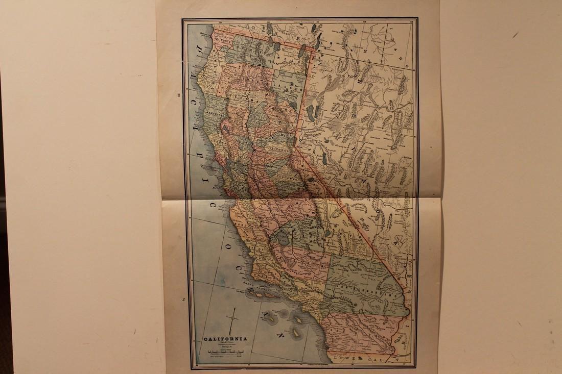 1887 Map of California