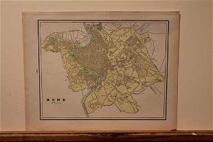 1892 Map of Rome
