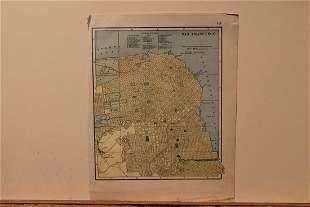 1885 Map of San Francisco