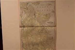 1901 Map of Boston