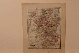 1893 Map of Scotland