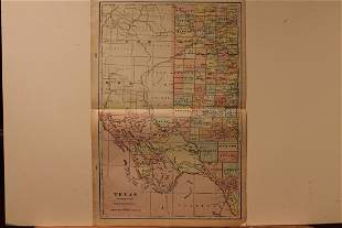 1901 Map of West Texas