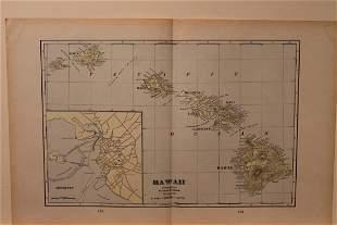 1901 Map of Hawaii