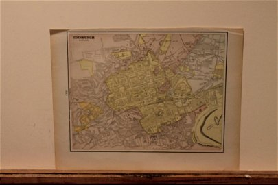 1892 Map of Edinburgh