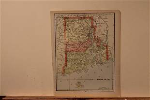 1895 Map of Rhode Island