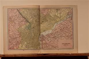 1889 Map of Philadelphia