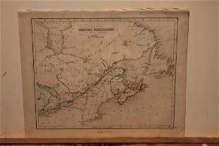 1859 Map of Canada