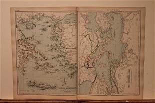 1882 Map of the Greek Archipelago