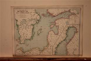 1882 Map of Finland
