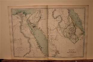 1886 Map of Egypt