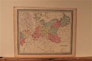 1850 Map of Prussia