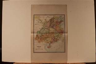 1891 Map of China