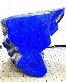 Blue Lapis Lazuli Freeform Tumble from Badakhshan