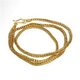 Roman Gold Chain Necklace, c. 2nd Century A.D.