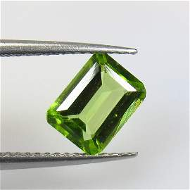 1.44 Ct Natural Pakistan Peridot Octagon Cut