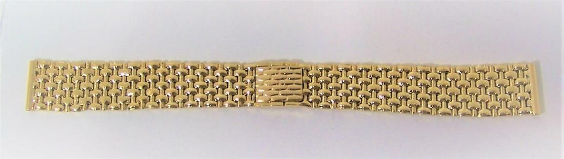 SOLID 14k Yellow GOLD Watch Bracelet to fit 18 mm Logs
