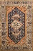 Antique 100% Vegetable Dye Sultanabad Persian Area Rug