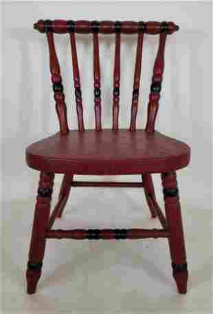 Lebanon County, Pa childs chair ca 1890