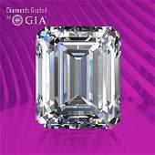 1.04 ct, Color D/VVS2, Emerald cut GIA Graded Diamond