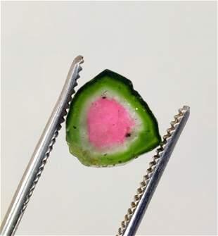 Tourmaline, Perfectly Shaped Watermelon Tourmaline